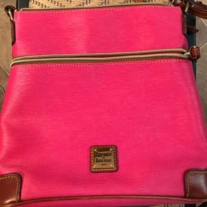 Dooney & Bourke crossbody and matching wristlet